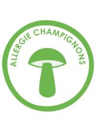 Sticker allergie champignons