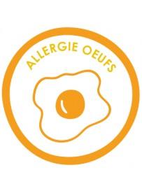 Sticker allergie oeufs