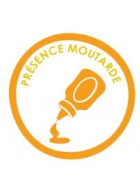 Sticker présence allergène moutarde