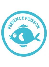 Sticker présence allergène poisson