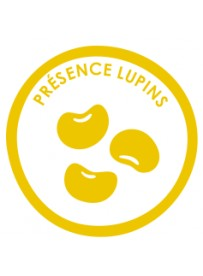 Sticker présence allergène lupins
