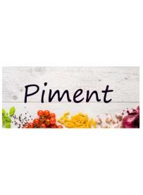 Étiquette Piment pots et bocaux
