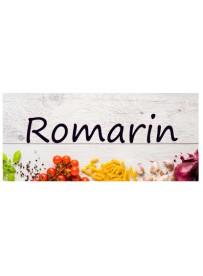 Étiquette Romarin pots et bocaux