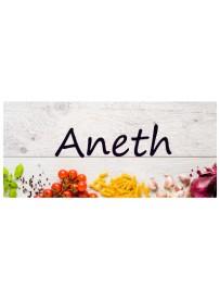 Étiquette Aneth pots et bocaux