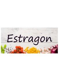 Étiquette Estragon pots et bocaux