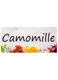 Étiquette Camomille pots et bocaux
