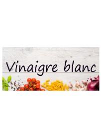 Étiquette Vinaigre blanc bouteille