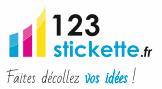 Le projet stickers-autocollants.com voit le jour sous le nom 123-stickette.fr