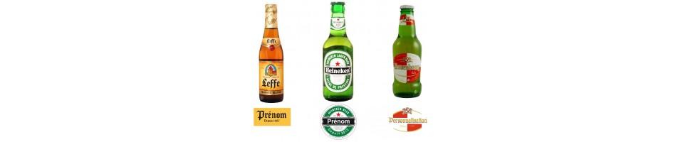 Étiquette bière personnalisée