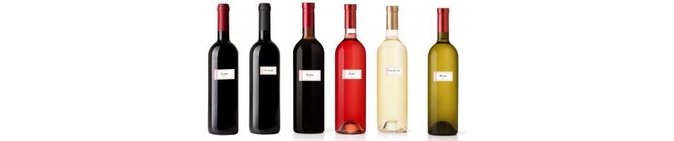 Étiquette bouteille